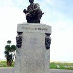 Bela estátua na Rambla