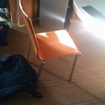 Portable AC and chair