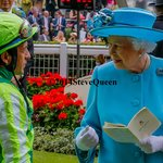 Victor Espinoza,winning jockey of 2014 Ky Derby and Preakness, meets the Queen