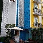 Salil Hotel pool area