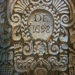 Iglesia de Santo Domingo desde 1698