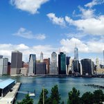 View of NYC from Brooklyn Heights