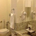 banheiro do hotel Gloria
