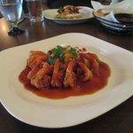 Shrimp at Hacienda Sisal