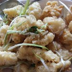 Salty Fried Squid, one of our family favorite...