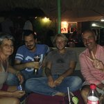 After dinner with Tomasso the owner and manager and his family