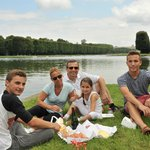 picnic lunch at canal