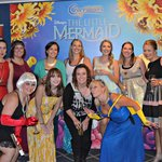Dressed to the theme of our favorite Disney character(s) at The Little Mermaid!
