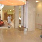 Lobby de l'hôtel Citadines