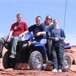 The Potter family on their ATV trip