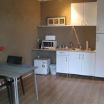 Dining and kitchenette
