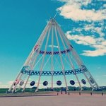 Wold's tallest teepee