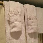 Fancy towel folding