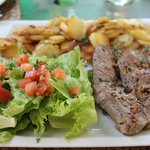 steak de cerf