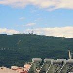 Cross on the mountain Vodno