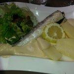Merluchon et sa sauce (excellent!!!!)