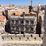 ダビデの塔からホテルの全景