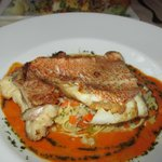 Red Mullet with tagliatelle