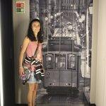 extérieur de l'ascenseur