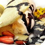 Belgian Chocolate and Ice Cream