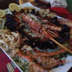 Deluxe seafood platter 70 euro 