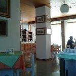 Parte della sala colazioni