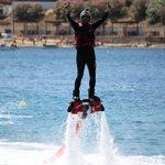 FlyBoard Malta in St Julians Bay