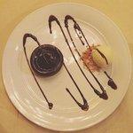 Fondant de chocolate!!