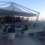 The evening bar