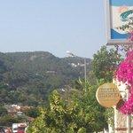 The hotel and villas from Olu Deniz
