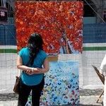 Artistas en Plaza Mayor