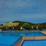 Panorama of Main Pool
