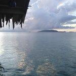 Aussicht Wasser- Bungalow Papua Explorers Raja Ampat