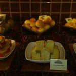 Breakfast buffet Gluten-free cakes