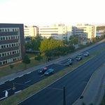 Aussicht vom 5.Stock auf Strasse