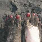 черный крупный вулканический песок