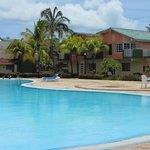 Una de las piscinas en el Solymar (la mas tranquila de las dos)