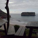 Vistas desde el Chiringuito de la playa