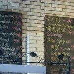 The menu of Coffee