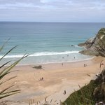 View as you dine with The Cod End Fish and Chips Newquay