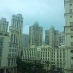 the hiranandani towers visible from the room