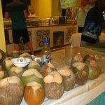 fresh coconut drinks
