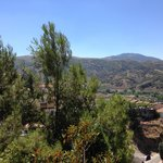Vista del paisaje desde Habitación Luarca