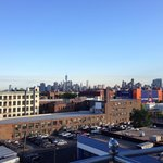 Brooklyn skyline from 7th floor room