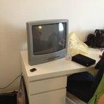 tv color in camera