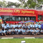 A VIEW OF WHAT ONE CAN SEE IN COLOMBO ON COLOMBO CITY TOUR.