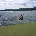 Lake swimming at The Sagamore.