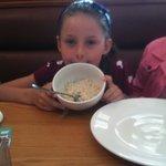 Porridge with banana & honey for breakfast !!