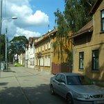okolica hotelu Best w Rydze.