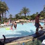 at Saturno pool